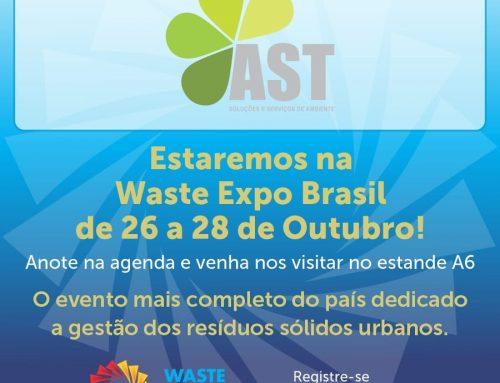 AST na Waste Expo Brasil 2021